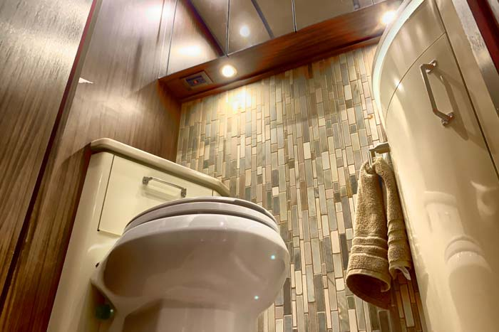 how to replace RV toilet