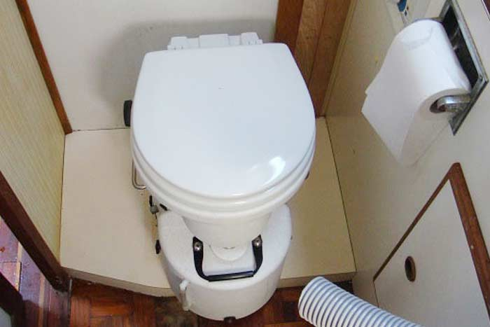 How to clean RV toilet