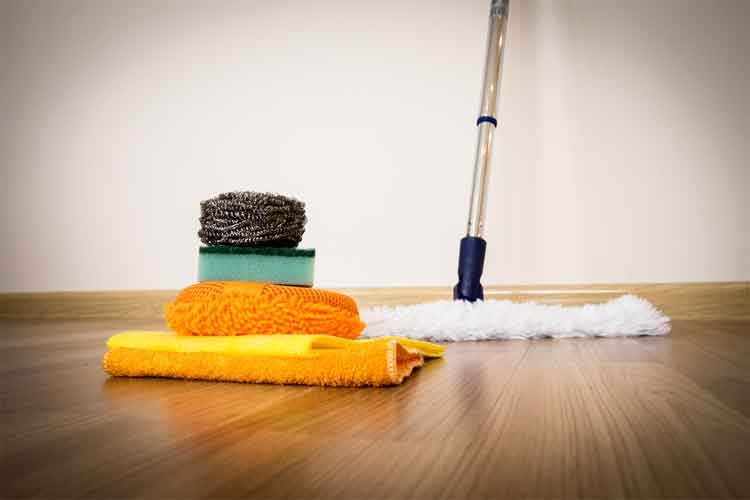 Hardwood Floors Clean